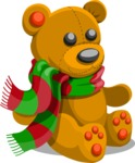 Christmas Vectors - Mega Bundle - Teddy Bear Toy