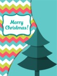 Christmas Card Material Design