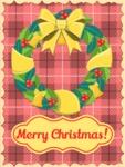 Christmas Card Rustic Wreath