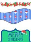 Figurative Christmas Card