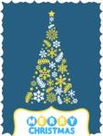 Modern Christmas Card