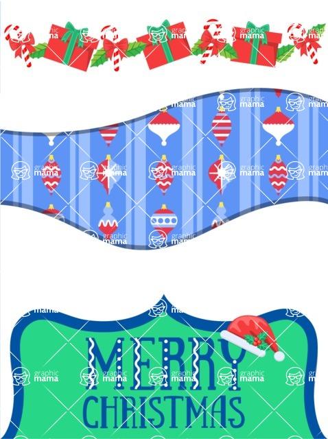 Christmas Card Vector Graphics Maker - Figurative Christmas Card