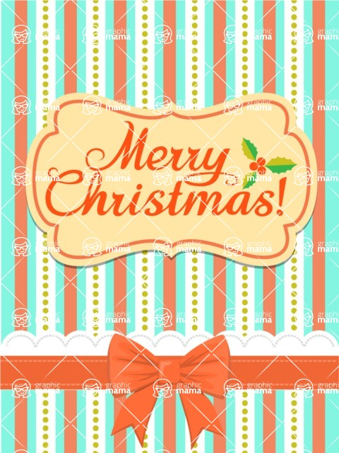 DIY Christmas Cards - Christmas Card with Bow