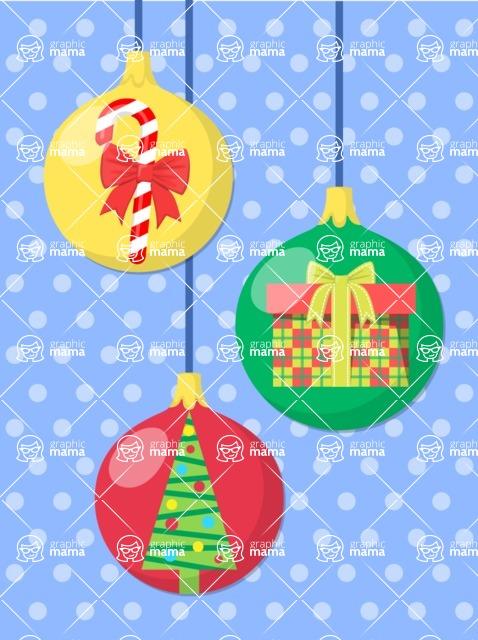 DIY Christmas Cards - Christmas Card with Toys