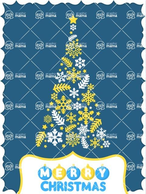 DIY Christmas Cards - Modern Christmas Card