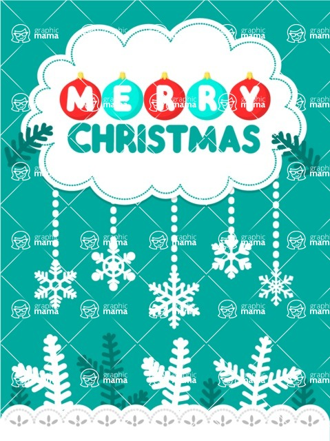 DIY Christmas Cards - Christmas Card with Snow and Frost