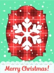 Christmas Card Vector Graphics Maker - Christmas Card Rustic