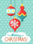Christmas Card Vector Graphics Maker - Merry Christmas Card