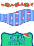 Christmas Card Vector Graphics Maker - Figurative Christmas Card