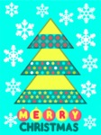 Christmas Card Vector Graphics Maker - Simple Christmas Card