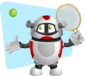 Smart Robot Cartoon Vector Character AKA Chubbydroid 3000 - Shape11
