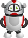 Smart Robot Cartoon Vector Character AKA Chubbydroid 3000 - Patient