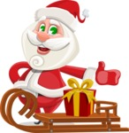 Saint Nick Holy-gift - Sled With Gift