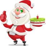 Saint Nick Holy-gift - With Cake