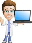 Dr 'Handsome' Steven - Laptop 2