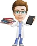 Dr 'Handsome' Steven - Books vs iPad