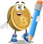 Bitcoin McPay - Pencil