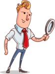 Vector Businessman Cartoon Character Design - Search