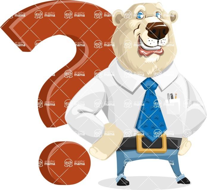 Polar Bear Cartoon Character - Question