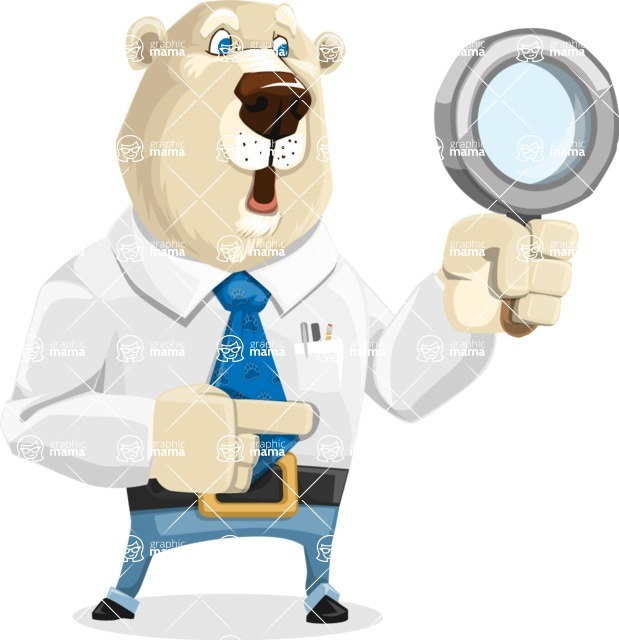 Polar Bear Cartoon Character - Search