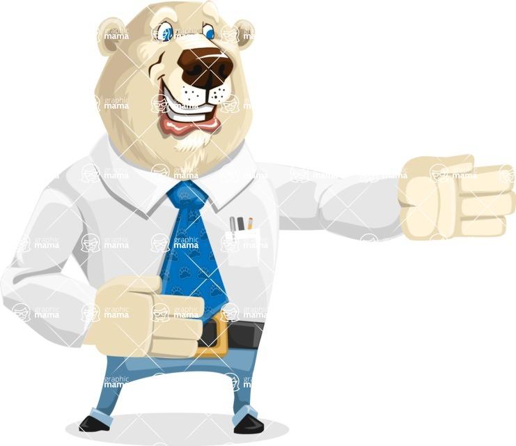 Polar Bear Cartoon Character - Show 2