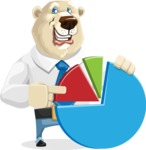 Polar Bear Cartoon Character - Chart