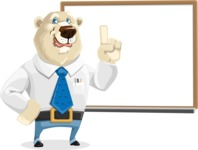Polar Bear Cartoon Character - Presentation 3