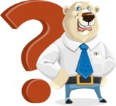 Polar Bear Cartoon Character - Question
