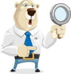Polar Bear Cartoon Character - Search