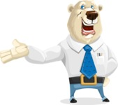 Polar Bear Cartoon Character - Showcase 2