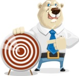 Polar Bear Cartoon Character - Target