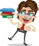 Entrepreneur Man Cartoon Vector Character AKA Clark Executive - Book 2