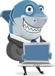 Sharky Razorsmile - Laptop 2