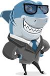 Sharky Razorsmile - Sunglasses