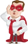 Business Hero Cartoon Vector Character AKA Corporate Steel - Duckface