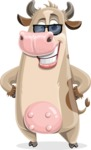 Cody the Active Cow - Sunglasses