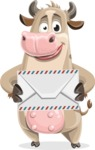 Cody the Active Cow - Letter