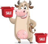Cody the Active Cow - Sale