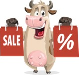 Cody the Active Cow - Sale 2