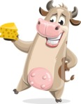 Cody the Active Cow - Cheese