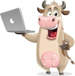 Cody the Active Cow - Laptop 1