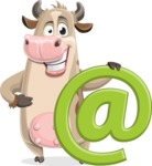 Cody the Active Cow - Email