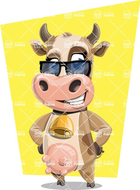 Colleen the Gentle Cow - Shape 5