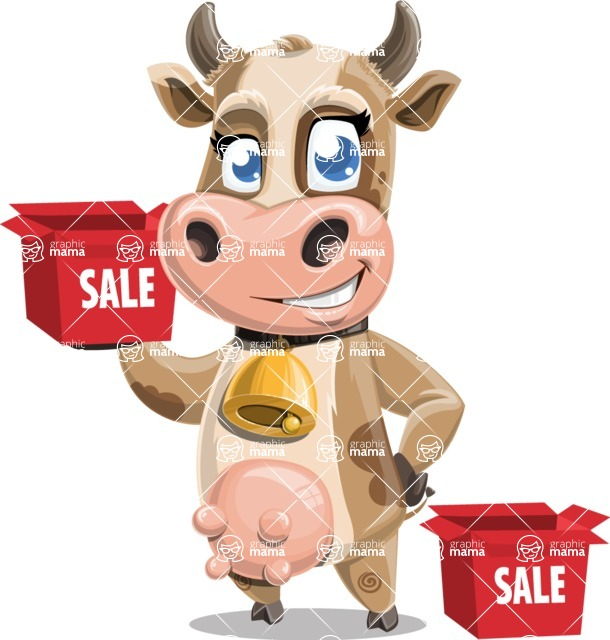 Colleen the Gentle Cow - Sale