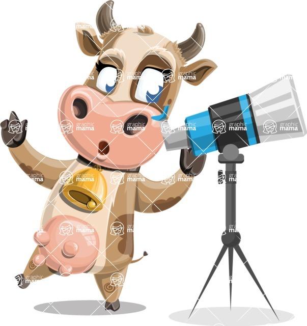 Colleen the Gentle Cow - Telescope