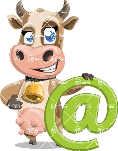 Colleen the Gentle Cow - Email