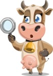 Young Cow Cartoon Vector Character AKA Colleen the Gentle Cow - Search