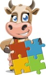 Colleen the Gentle Cow - Puzzle