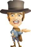 Cowboy Man Cartoon Vector Character AKA Mr. Western - Showcase 1