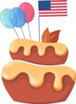 Cupcake Vector Graphics Maker - American pastry